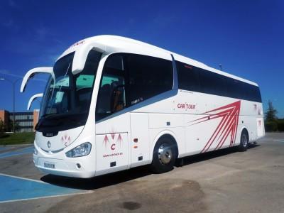 Autobuses en Madrid