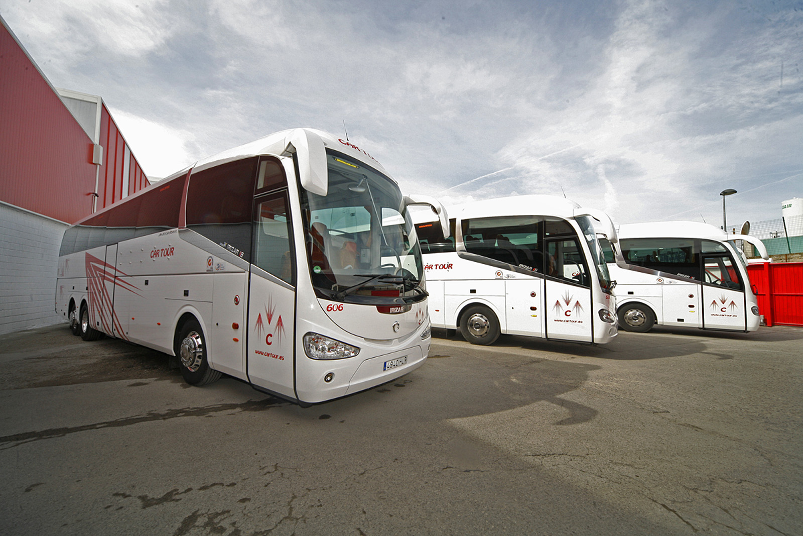 coach hire Madrid