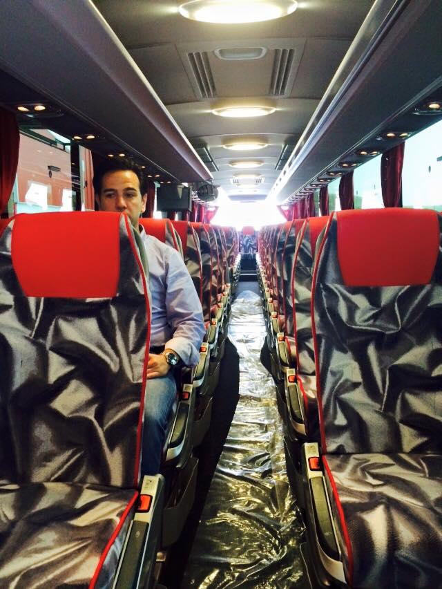 cartour mercedes coach inside